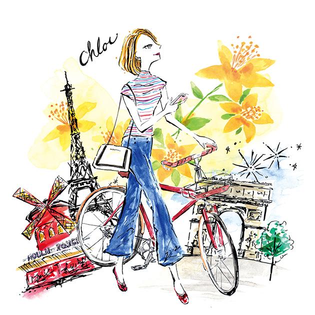 Paris image/パッケージイラスト